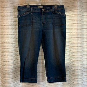 Size 16 Levi's Jean Capris